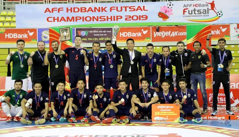 ชิงแชมป์อาเซี่ยน2019 ทีมฟุตซอลทีมชาติไทย