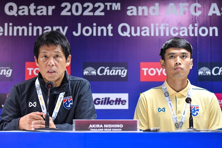 คัดบอลโลก2022 ทีมชาติไทย อากิระ นิชิโนะ