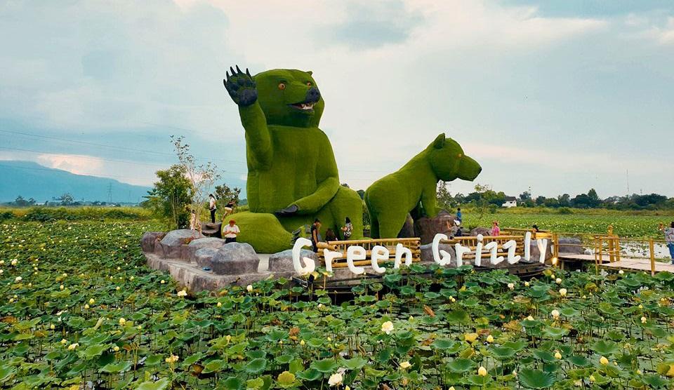 ตลาด Green Grizzly ตลาดน้ำ ตลาดน้ำหมียักษ์เขียว ที่เที่ยวเชียงใหม่ เที่ยวเชียงใหม่