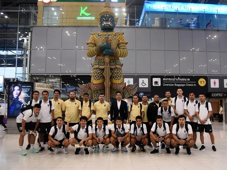 ฟุตซอลชิงแชมป์อาเซี่ยน2019 ฟุตซอลทีมชาติไทย