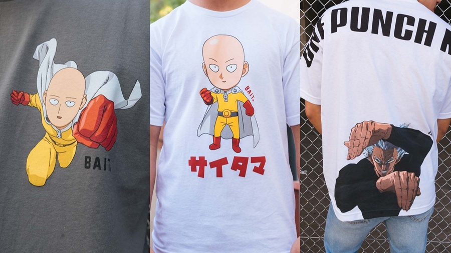 BAIT Crablante fashion Garou Genos one One Punch Man Saitama streetwear Tatsumaki Yusuke Murata การ์ตูน มังงะ ยูสึเกะ มุราตะ สตรีทแวร์ แฟชั่น