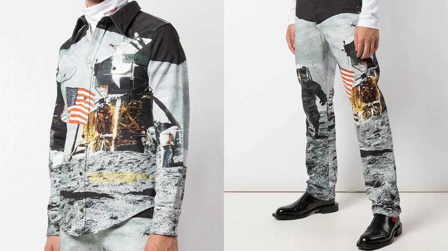 Apollo 11 Calvin Klein fashion Moon Landing nasa Neil Armstrong streetwear ยานอวกาศ สตรีทแวร์ อะพอลโล 11 แฟชั่น