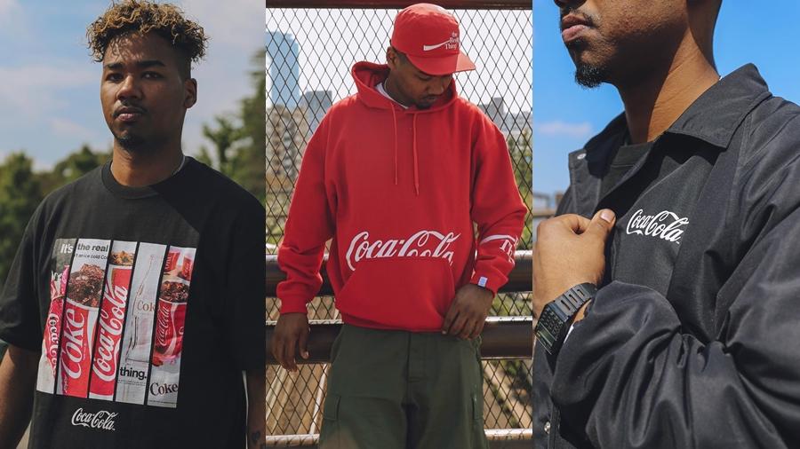 Atmos Atmos Lab coca cola coke fashion streetwear the real thing สตรีทแวร์ เครื่องแต่งกาย แฟชั่น โค้ก โคคาโคลา