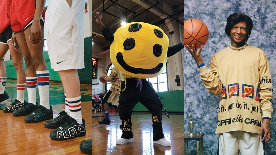 AIR FORCE 1 Air More Uptempo Cactus Plant Flea Market CPFM fashion nike Sneaker streetwear รองเท้า สตรีทแวร์ สนีกเกอร์ แฟชั่น ไนกี้