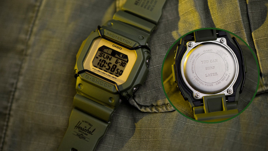 fashion g-shock GLX5600-1 Herschel Herschel Supply Co streetwear watch นาฬิกา สตรีทแวร์ แฟชั่น