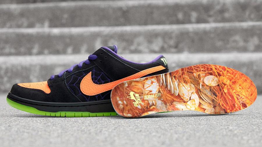 Dunk Low fashion Halloween Night of Mischief nike nike sb Nike SNKRS Skateboard Sneaker รองเท้า สนีกเกอร์ สเก็ตบอร์ด ฮาโลวีน แฟชั่น ไนกี้