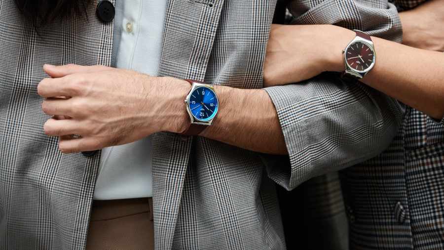 SKIN Irony swatch watch นาฬิกา