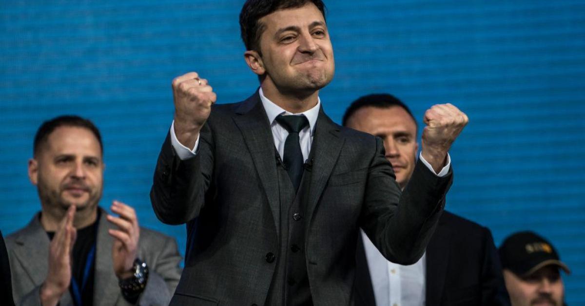 ประธานาธิบดียูเครน แถลงข่าวนานที่สุดในโลก โวโลดิมีร์ เซเลนสกี