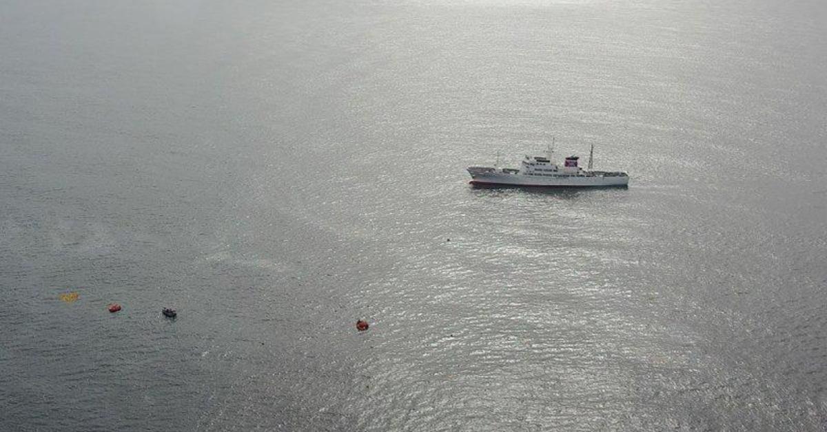 ญี่ปุ่น เกาหลีเหนือ เรือชนเรือ