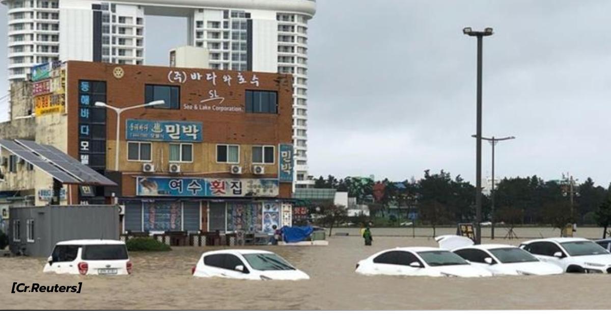 ข่าวสดวันนี้ เกาหลีใต้ ไต้ฝุ่นมิแทก
