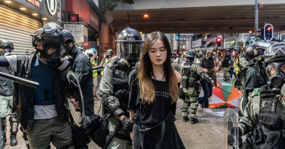 ข่าวสดวันนี้ จีน ประท้วงฮ่องกง ฮ่องกง