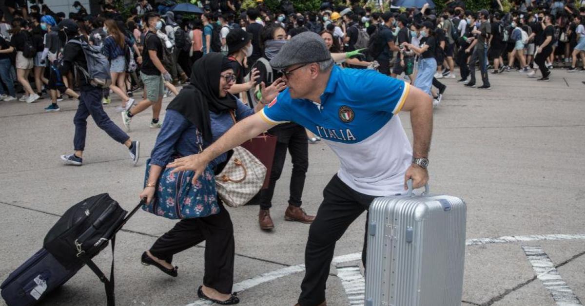 ข่าวสดวันนี้ ประท้วงฮ่องกง เที่ยวฮ่องกง