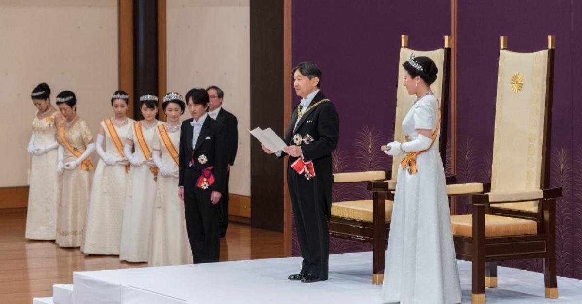 ข่าวสดวันนี้ ขึ้นครองราชย์ ญี่ปุ่น ฮาจิบิส