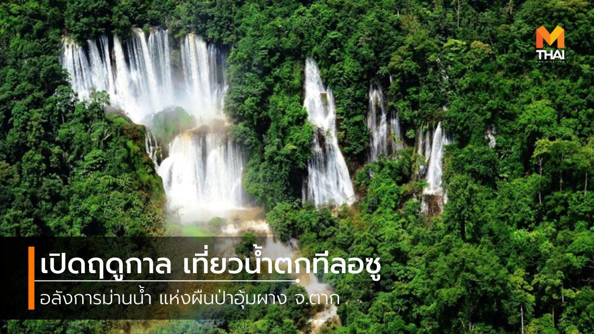 ที่เที่ยวตาก ที่เที่ยวน้ำตก น้ำตก น้ำตกทีลอซู เขตรักษาพันธุ์สัตว์ป่าภูหลวง