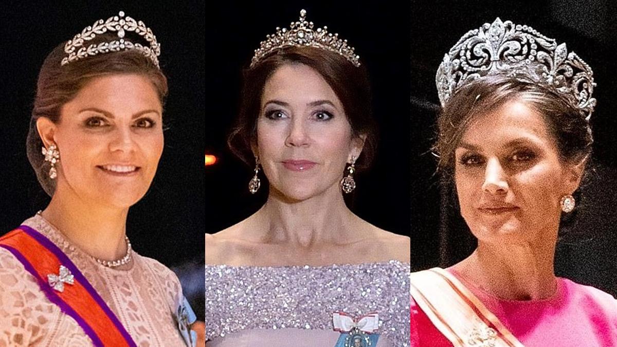 พิธีบรมราชาภิเษกสมเด็จพระจักรพรรดิญี่ปุ่น เทียร่า เทียร่า เจ้าหญิงทั่วโลก