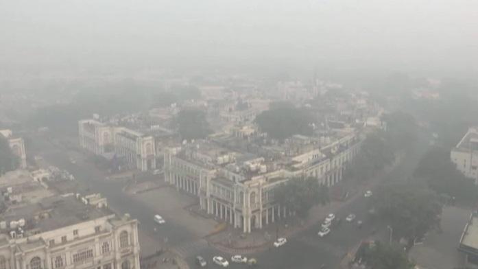 ปัญหาฝุ่นอินเดีย ฝุ่น PM 2.5 อินเดีย