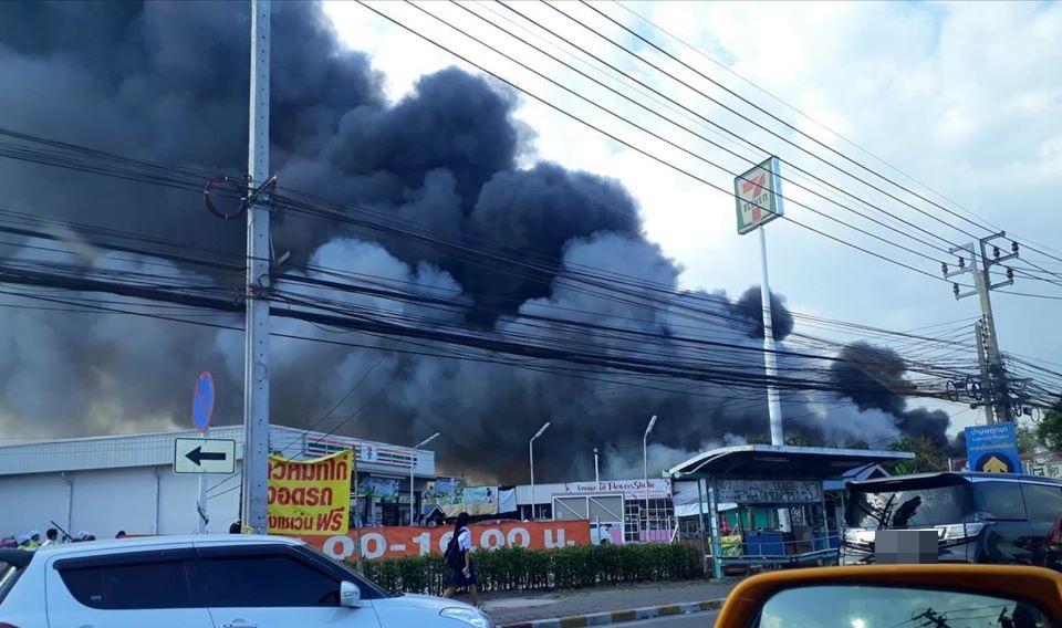 ไฟไหม้ ไฟไหม้ นนทบุรี