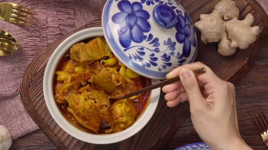 กินข้าวกัน วิธีทำ แกงฮังเล สูตรอาหาร แกงฮังเล