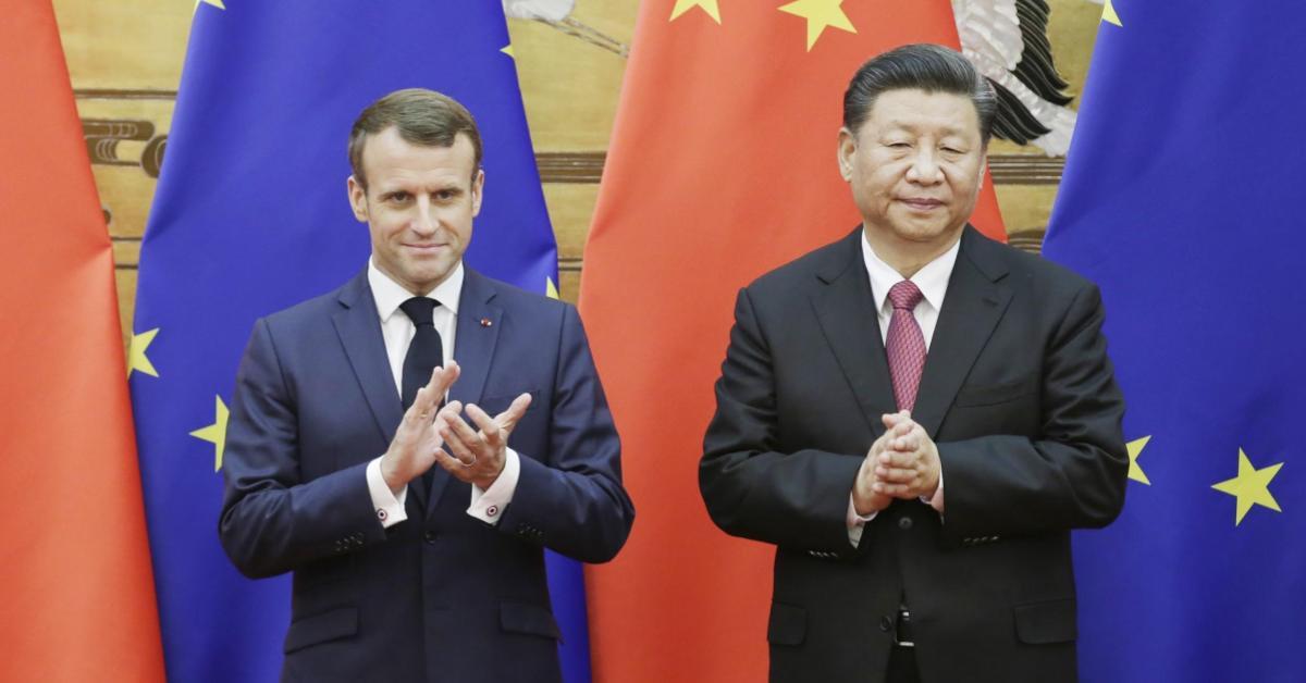 ข่าวสดวันนี้ จีน ฝรั่งเศส