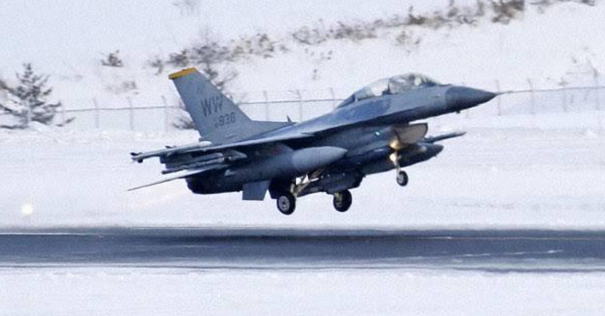 ข่าวสดวันนี้ สหรัฐ เครื่องบิน เอฟ-16