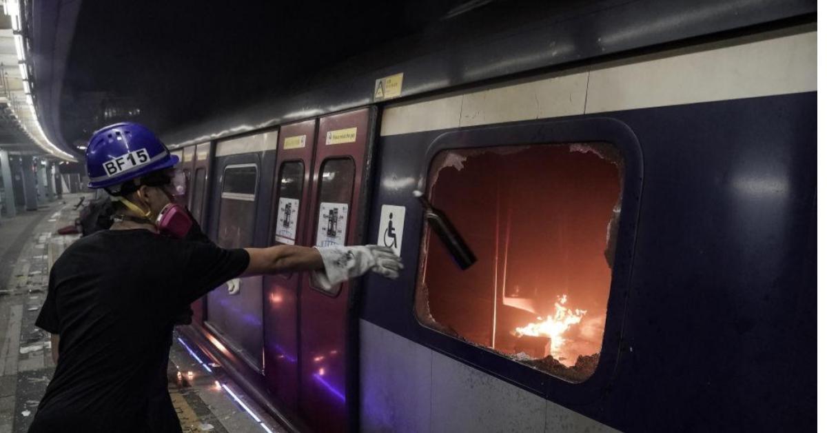 ข่าวสดวันนี้ ประท้วงฮ่องกง รถไฟใต้ดินฮ่องกง