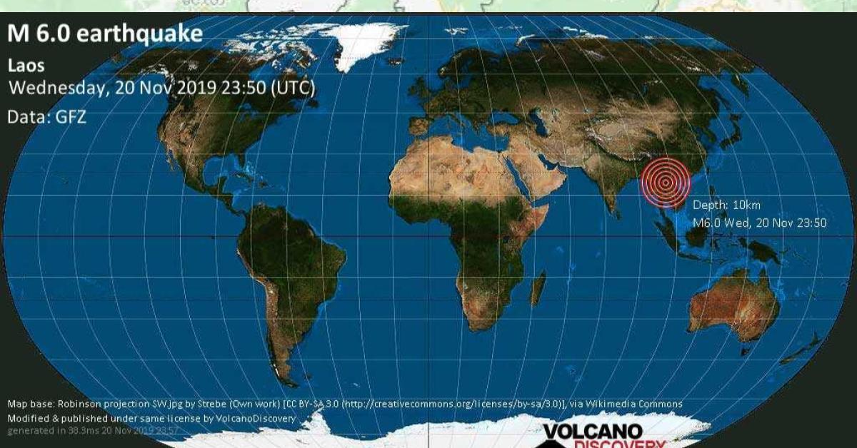 ข่าวสดวันนี้ ลาว ฮานอย แผ่นดินไหว
