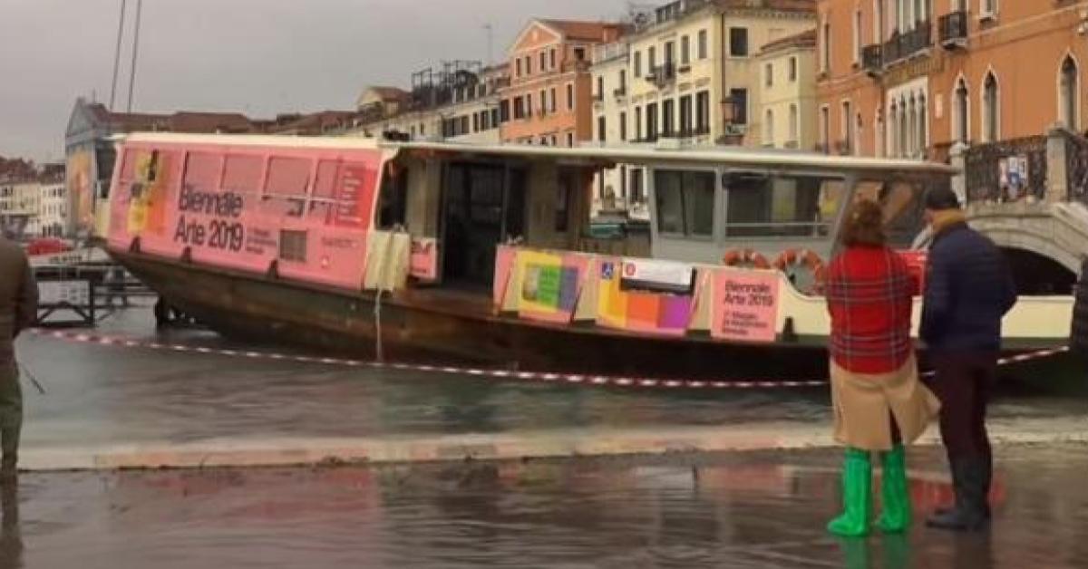 ข่าวสดวันนี้ น้ำท่วม เวนิส