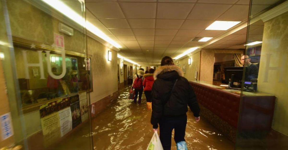 ข่าวสดวันนี้ น้ำท่วมอิตาลี เวนิส