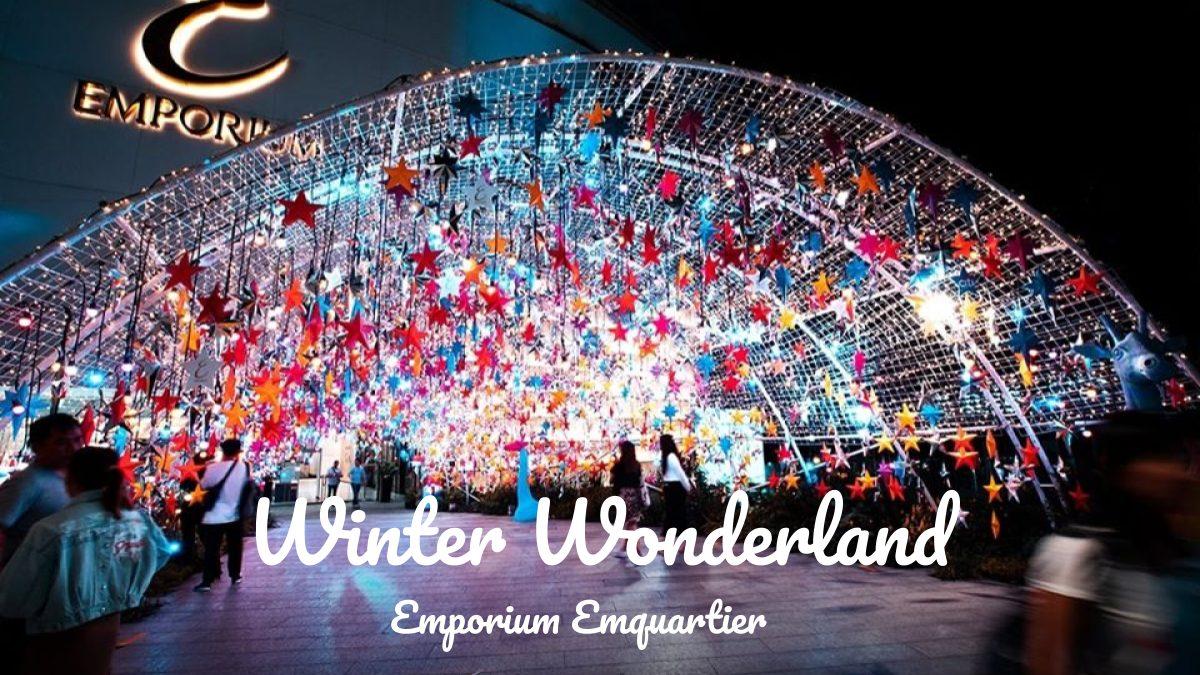 Emporium Emquartier ที่เที่ยวกรุงเทพ ที่เที่ยวถ่ายรูป ปีใหม่ ปีใหม่ 2020 ปีใหม่ 2563 เทศกาลคริสต์มาส เทศกาลปีใหม่ เที่ยว ดูไฟ เที่ยวกรุงเทพ