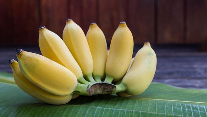กล้วยน้ำว้า ประโยชน์ของกล้วยน้ำว้า ผลไม้