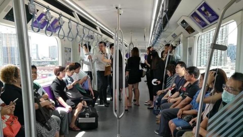 ข่าวสดวันนี้ รถไฟฟ้าสายสีม่วง