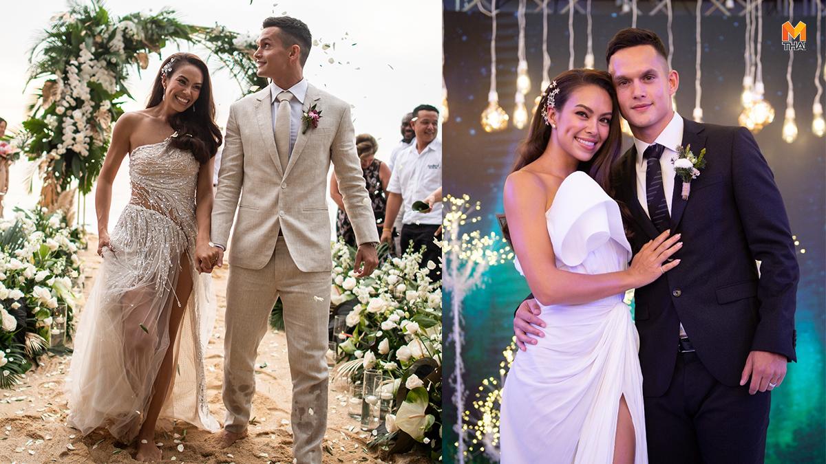 ชุดเจ้าสาว ชุดแต่งงาน ชุดแต่งงานดารา เทย่า โรเจอร์ส