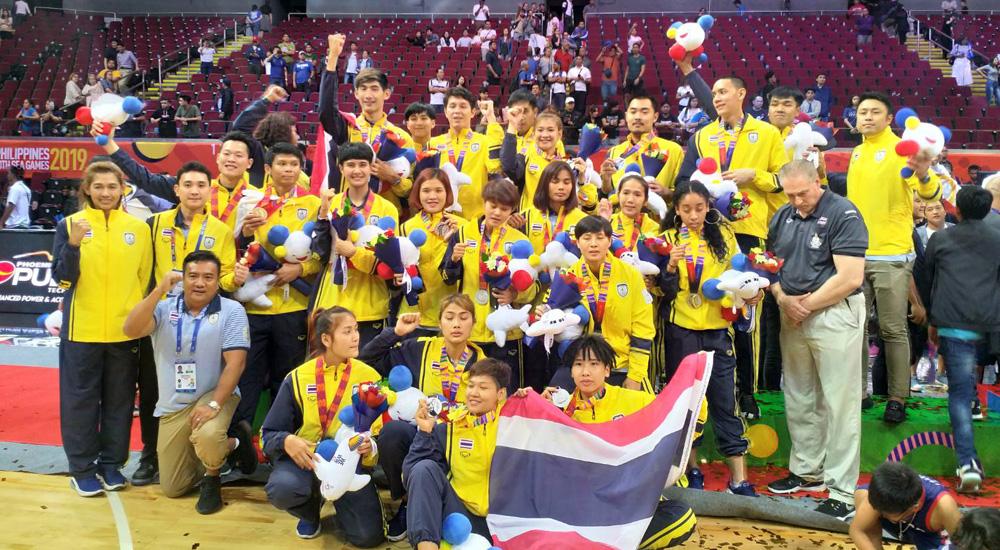 ซีเกมส์ ซีเกมส์ 2019 ทีมชาติไทย บาสเกตบอล