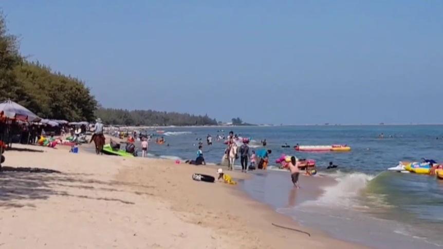 ขี้ปลาวาฬ ชะอำ หาดชะอำ แพลงก์ตอนบลูม