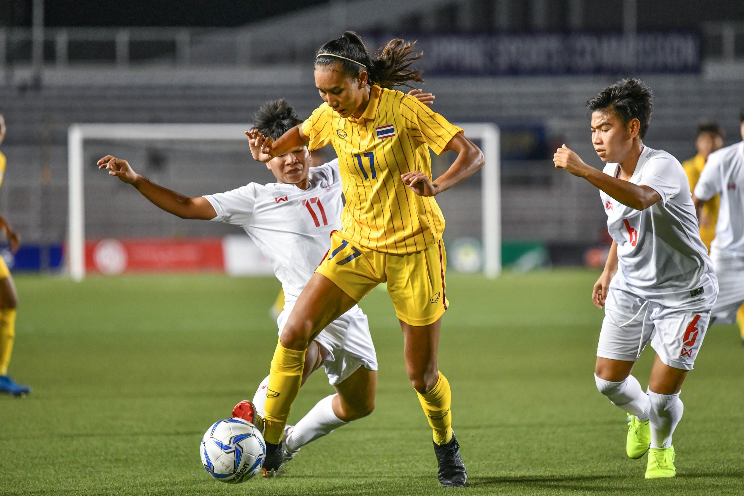 ฟุตบอลหญิงทีมชาติไทยชุดซีเกมส์2019