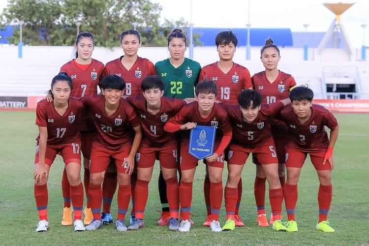 ทีมฟุตบอลหญิงทีมชาติไทย