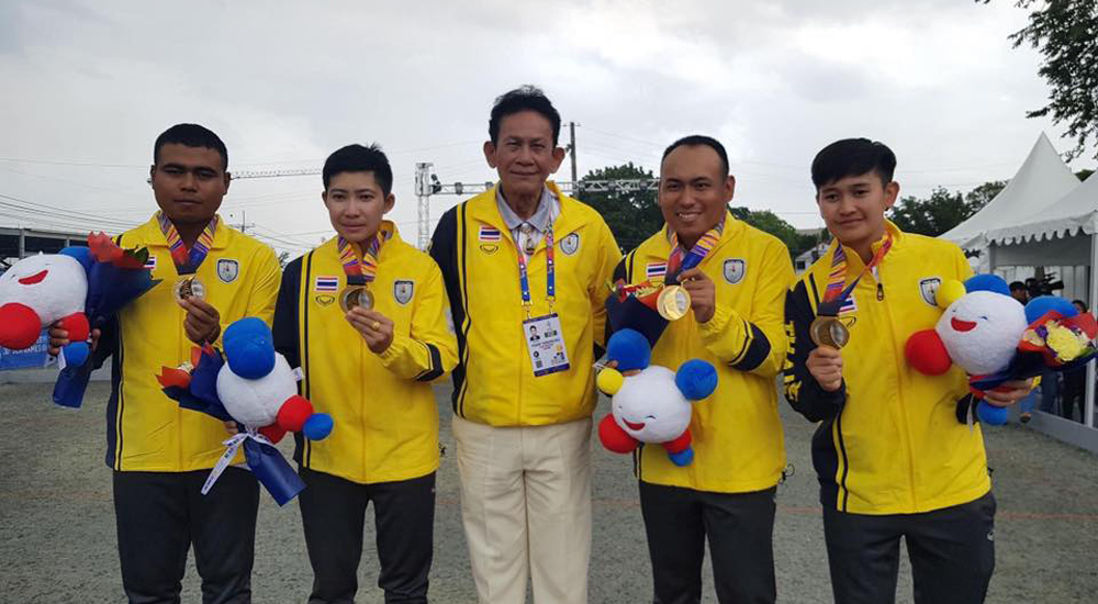 ซีเกมส์ ซีเกมส์ 2019 ทีมชาติไทย เปตอง