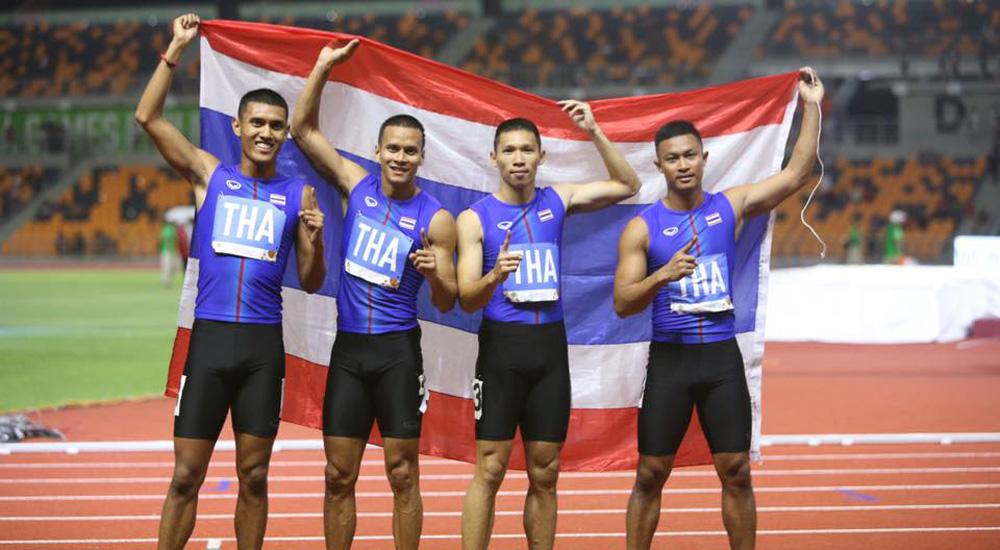 กรีฑา ซีเกมส์ ซีเกมส์ 2019 ทีมชาติไทย วิ่งผลัด