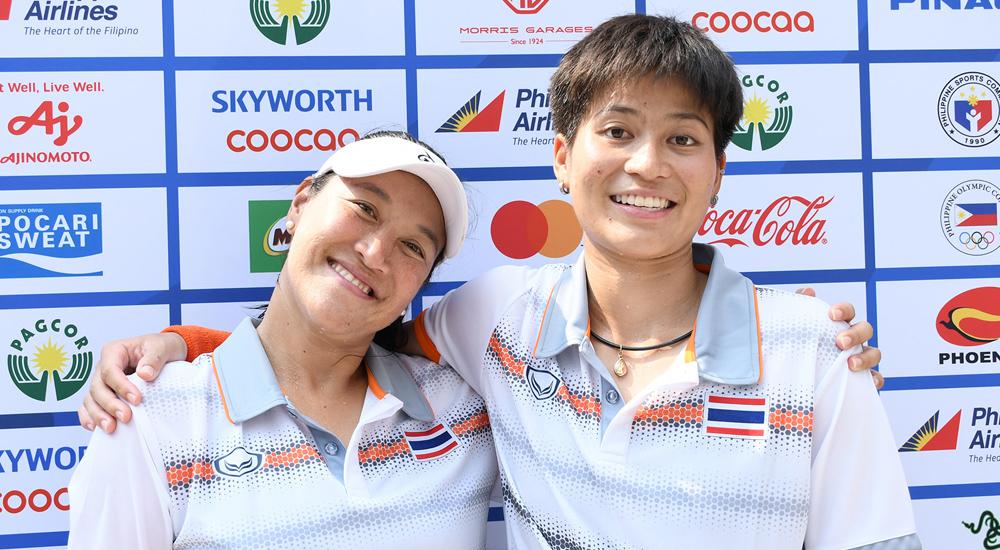 ซีเกมส์ ซีเกมส์ 2019 ทีมชาติไทย สรรค์ชัย รติวัฒน์ เทนนิส เพียงธาร ผลิพืช แทมมารีน ธนสุกาญจน์ แทมมี่