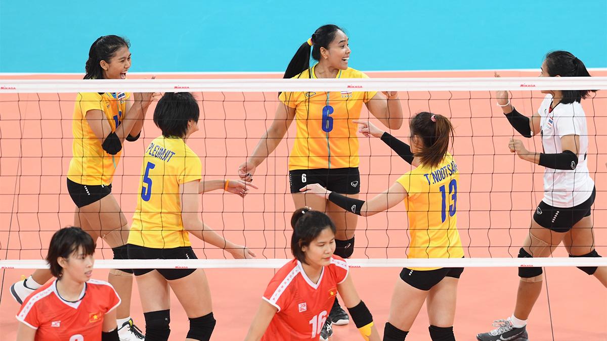 ซีเกมส์ 2019 ทีมชาติเวียดนาม ทีมชาติไทย วอลเลย์บอลหญิง