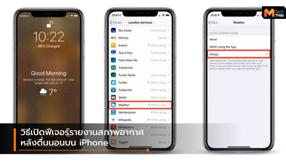 Apple iPhone mobile tips มือถือ สมาร์ทโฟน เทคนิค ไอโฟน