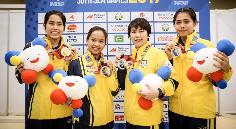 ซีเกมส์ ซีเกมส์ 2019 ทีมชาติไทย เทเบิลเทนนิส