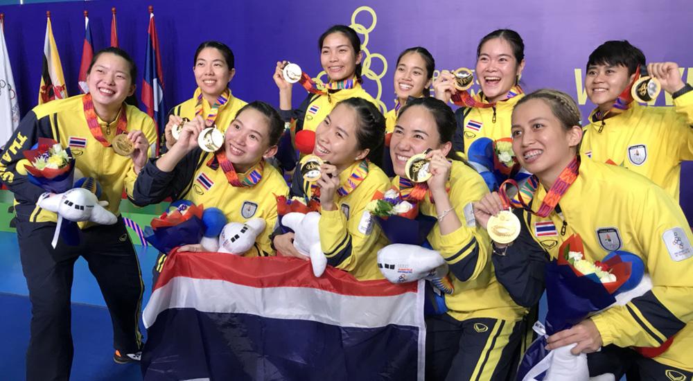 ซีเกมส์ ซีเกมส์ 2019 ทีมขนไก่สาวไทย ทีมชาติไทย แบดมินตัน