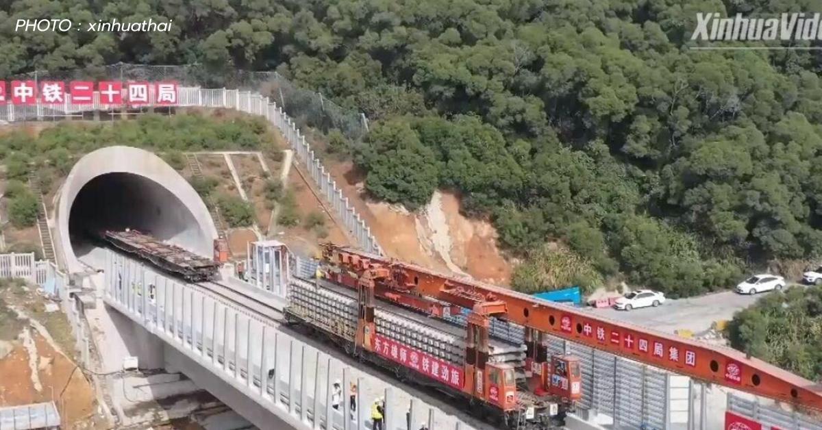 ข่าวสดวันนี้ รถไฟบนสะพานทางหลวง