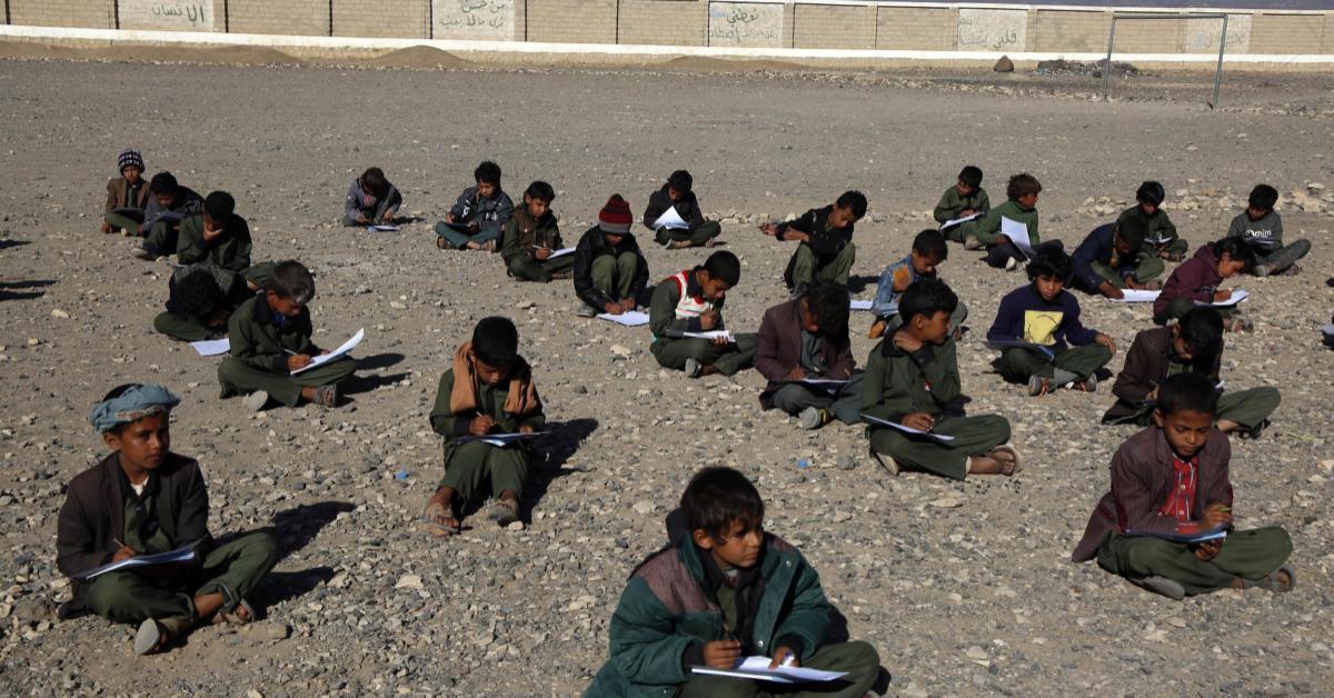 สงครามกลางเมือง เยเมน โรงเรียน
