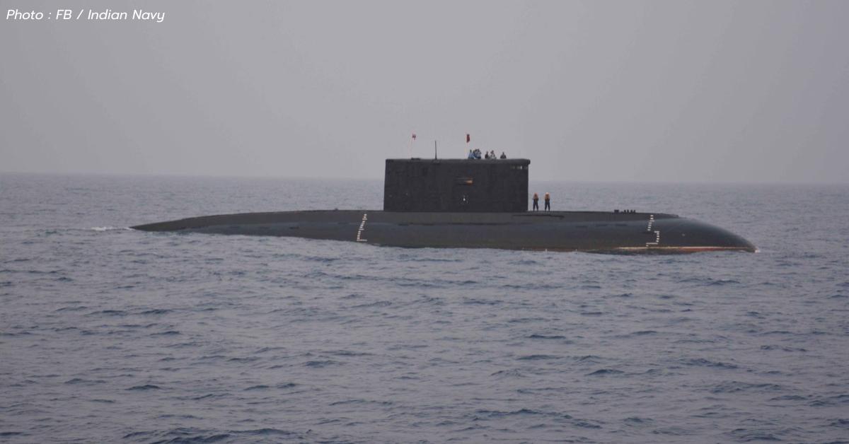INS Sindhuvir Kilo-class อินเดีย เรือดำน้ำ