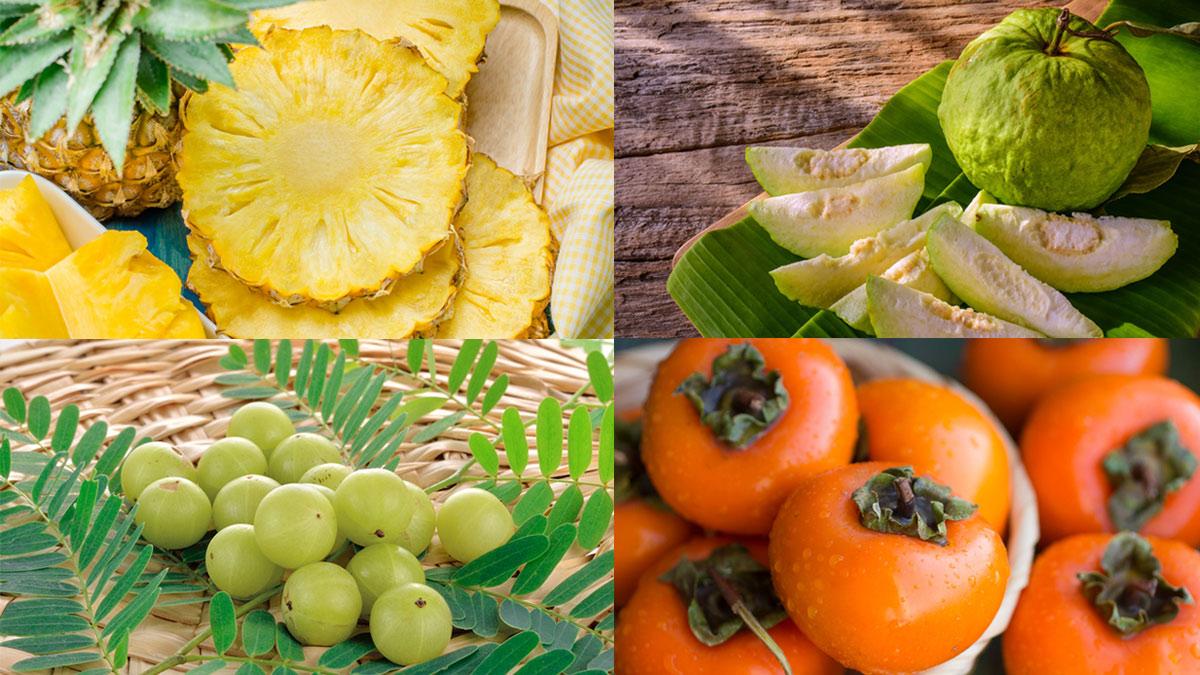 ผลไม้ ผลไม้ที่ควรกินในหน้าหนาว ฤดูหนาว หน้าหนาว