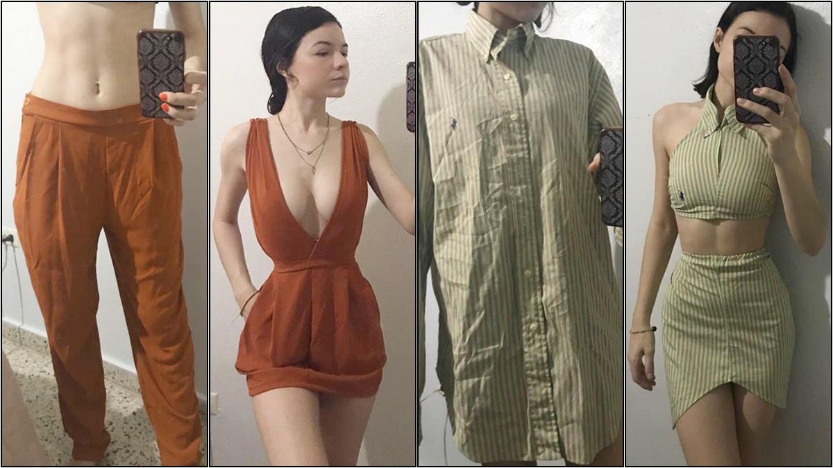 ตัดเย็บเสื้อผ้า ออกแบบเสื้อผ้า เสื้อผ้ามือสอง แปลงโฉมเสื้อผ้า ไอเดียแมทช์เสื้อผ้า