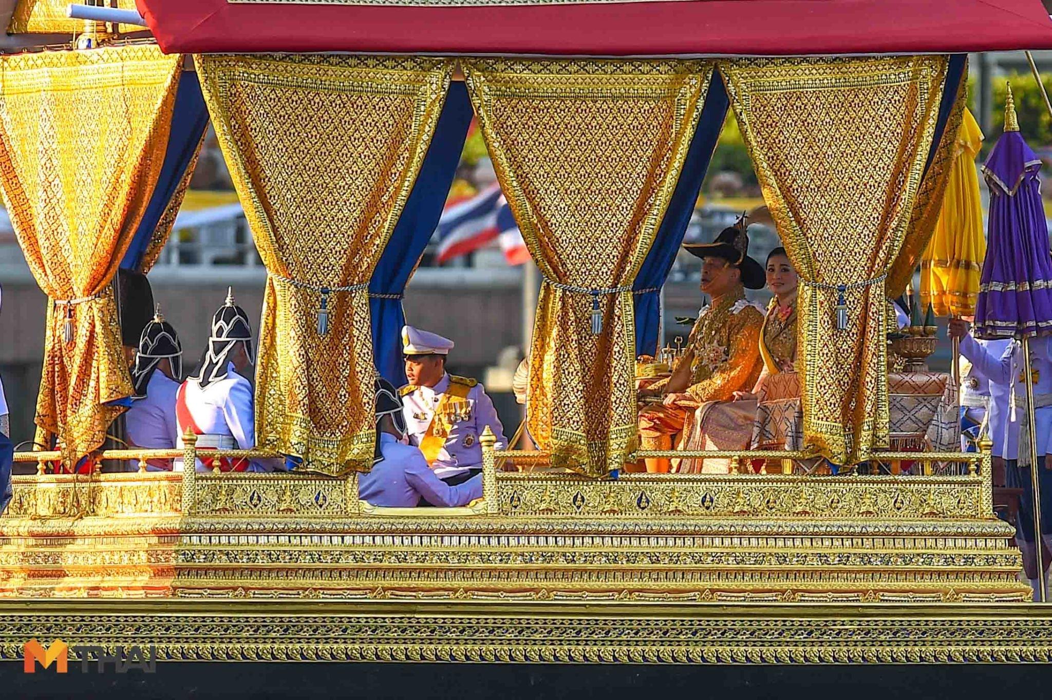 ขบวนพยุหยาตราทางชลมารค พระราชพิธีบรมราชาภิเษก เรือ