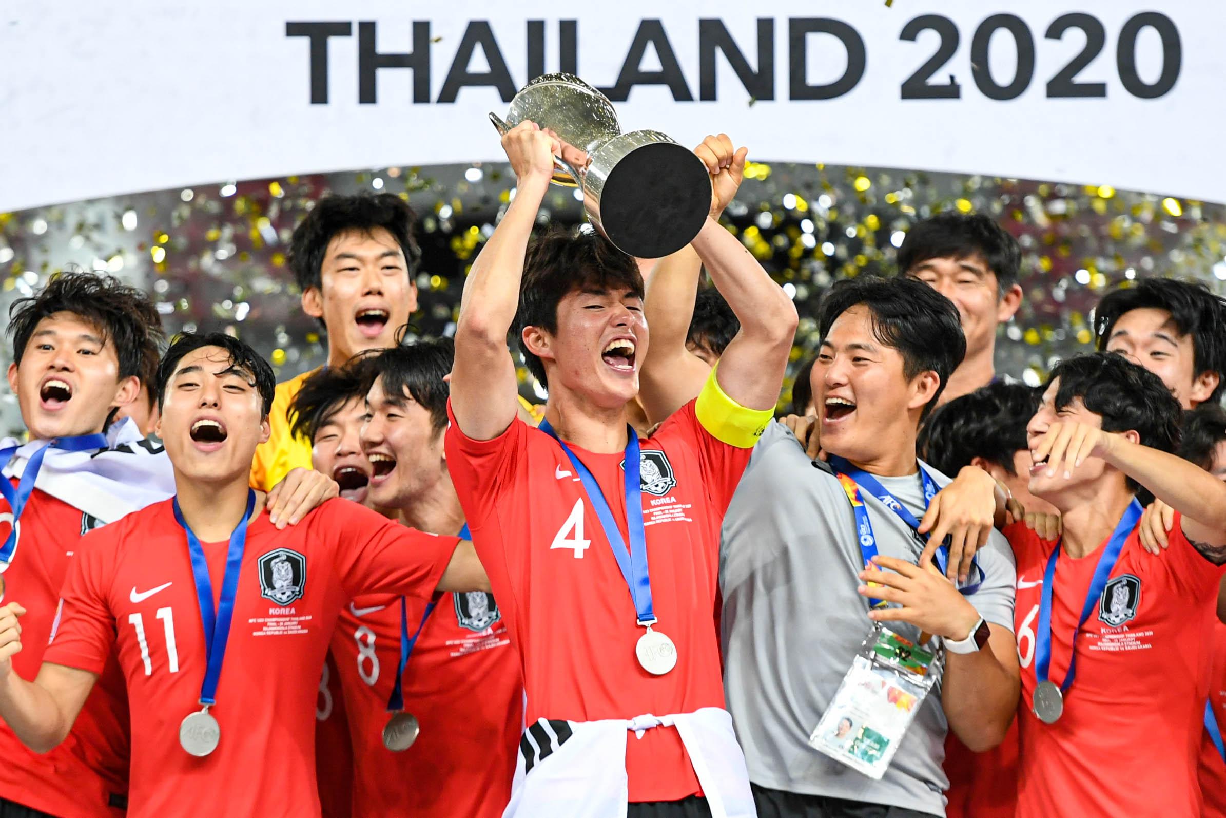 เกาหลีใต้ เอเอฟซียู23ชิงแชมป์เอเชีย2020